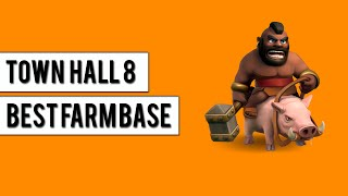 getlinkyoutube.com-TH8 FARM BASE LABYRINTH - Town Hall 8 insane layout with Air Sweeper - Clash Of Clans - 2015