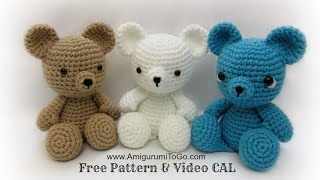 getlinkyoutube.com-Crochet Bear Video Tutorial