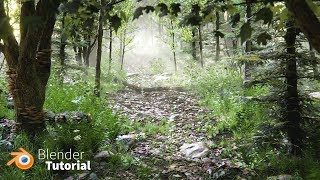 Create a Forest in Blender in 1 Hour