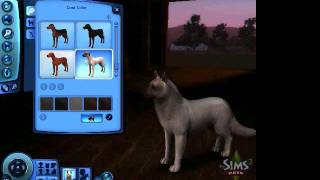 getlinkyoutube.com-Sims 3 pets - How to Create a wolf/wolf pack tutorial PART 1