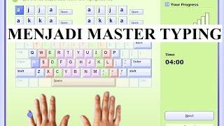 Belajar Mengetik 10 Jari Dengan Cepat Menggunakan Software Typing Master Pro