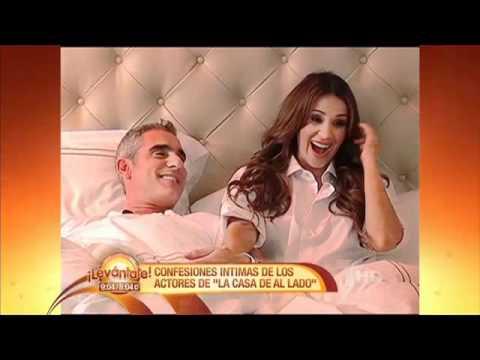 Catherine Siachoque y Miguel Varoni, entrevista en la cama! levantate