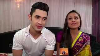 getlinkyoutube.com-Laksh and Anupriya aka Parth and Vibha of Warriors High in conversation with Tellybytes