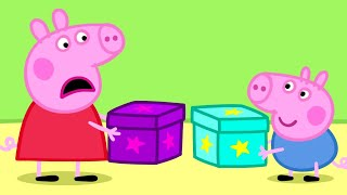 Peppa Pig English Episodes | Peppa Pig's Secret Box! | Cartoons for Children #151