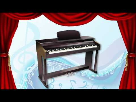 Musical Instrument Sounds English Part 1 - Learn Fast Fun -