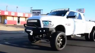getlinkyoutube.com-DODGE RAM 3500 Cummins Dually | FUEL MAVERICK DUALLY