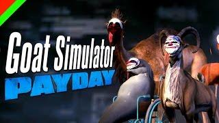 getlinkyoutube.com-Goat Simulator : Payday DLC - ปล้นแหลกแหกคอก (ตลก,ฮา)