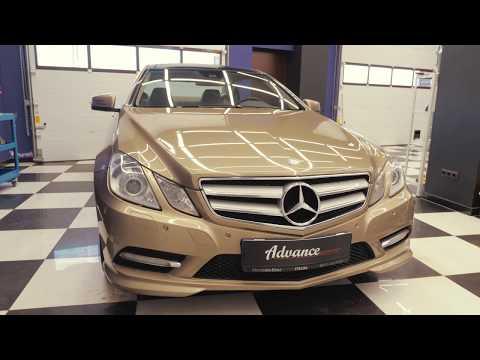 Детейлинг Химчистка Mercedes E-class coupe!