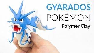 getlinkyoutube.com-Gyarados Pokemon – Polymer Clay Tutorial