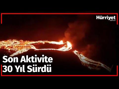 İzlanda'da 900 Yıldır Uykuda Olan Volkanik Sistem Lav Püskürttü