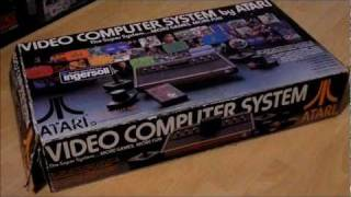 getlinkyoutube.com-Atari 2600 Unboxing, Setup and Buyers guide