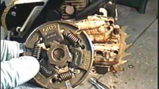 getlinkyoutube.com-STIHL MS 180 Chainsaw Clutch Removal & Installation