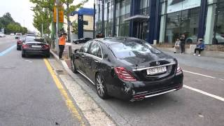 getlinkyoutube.com-A man Destroys Mercedes Benz - S63 AMG in South Ko