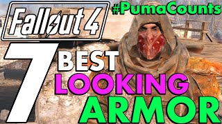 getlinkyoutube.com-Top 7 Coolest and Best Looking Armor, Apparel and Outfits in Fallout 4 #PumaCounts