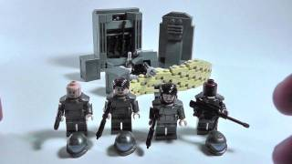 getlinkyoutube.com-Lego BrickForge Halo 3 ODST Minifigure Review (Tips on Making Halo Figures)