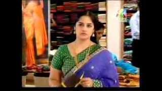 getlinkyoutube.com-south serial Actress Meena Kumari Hot Navel in see Through Saree