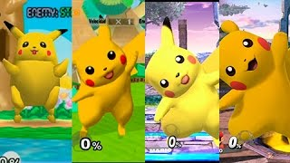 getlinkyoutube.com-Super Smash Bros Wii U | Pikachu Evolution