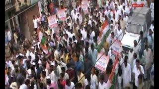 रूडकी पदयात्रा के दौरान बागी विधायको पर जमकर भड़के हरीश रावत
