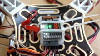 Thunder QQ Super Receiver & Sensor Calibration