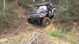 getlinkyoutube.com-Nissan Patrol Y60 4.2TD Pajero 3.0 off-road