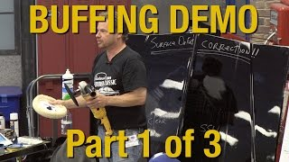 getlinkyoutube.com-How To Buff Clear Coat & Polishing Your Car Part 1 of 3 - Kevin Tetz Demonstration - Eastwood