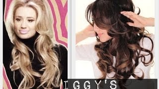 getlinkyoutube.com-★Iggy's HAIRSTYLE from ARIANA GRANDE PROBLEM | CURLY HAIRSTYLES