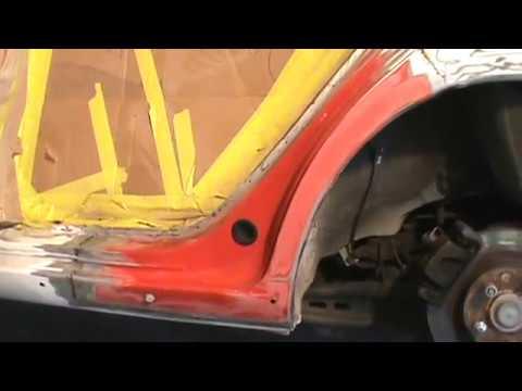 Automotive Dog Leg Repair