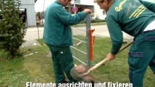 getlinkyoutube.com-Faulenzer - Die Neuheit im Zaunbau | Gartenfee Obersulm