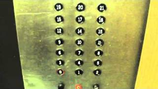 getlinkyoutube.com-Awesome Otis Lexan traction service elevator @ Sheraton Hotel Nashville TN