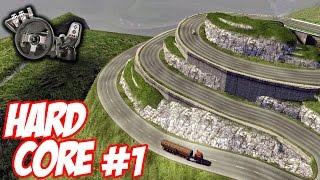 getlinkyoutube.com-Euro Truck Simulator 2 - Mapa difícil #1 - Sufoco para sair da empresa - Com Logitech G27