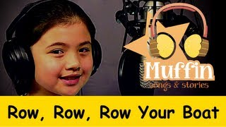 getlinkyoutube.com-Row Row Row Your Boat | Family Sing Along - Muffin Songs