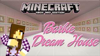getlinkyoutube.com-Minecraft Xbox | Barbie Dream House - MEGA CLOSET & VANITY MIRROR [2]