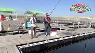 getlinkyoutube.com-海上釣り堀 数釣りのポイントは、林流ローテーション!!