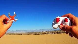 getlinkyoutube.com-HJ933 Nano Drone Flips & Flies