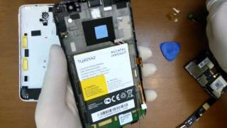 getlinkyoutube.com-Alcatel One Touch Scribe HD disassembly