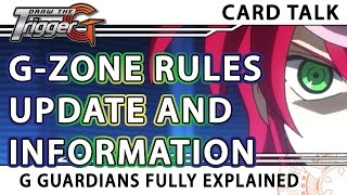G Zone Guardian Rules and Restriction Update - Cardfight!! Vanguard