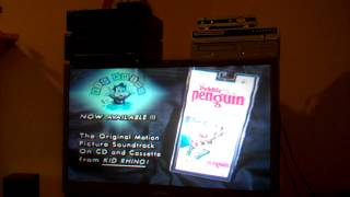 Closing To The Pebble And The Penguin 1995 VHS