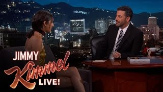 getlinkyoutube.com-Jimmy Kimmel & Kendall Jenner on Being Neighbors
