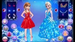 getlinkyoutube.com-Juego Disney Frozen Girls Dress Up