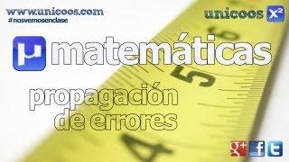 Imagen en miniatura para Propagación de errores - SUMA y PRODUCTO -