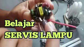 Servise Lampu Philips, Komponen Yang Sering Diganti