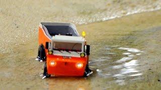getlinkyoutube.com-RC Amphi-Trucks 1st testdrive - Mikromodelle 1:87 zu Gast im Miniatur Wunderland