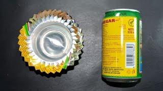 getlinkyoutube.com-cara membuat asbak dari kaleng bekas