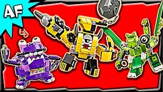 getlinkyoutube.com-Lego Mixels MAX Series 6: Weldos, Munchos, Glorp Corp Stop Motion Build Review