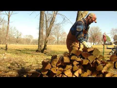 Powerhorse 22 Ton Wood Splitter Demo