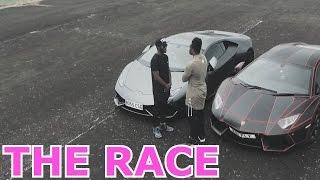 getlinkyoutube.com-LAMBORGHINI RACE WITH MY BRO REMATCH