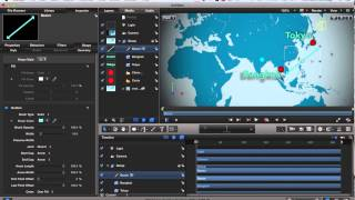 Motion 5 - Animated Map Tutorial - Part 2
