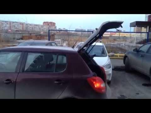 Автооткрытие багажника Skoda Fabia не удалось