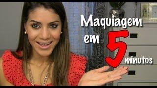 getlinkyoutube.com-Desafio: Maquiagem em 5 Minutos por Camila Coelho