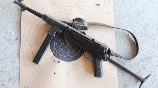 getlinkyoutube.com-Shooting the German MP40 submachine gun